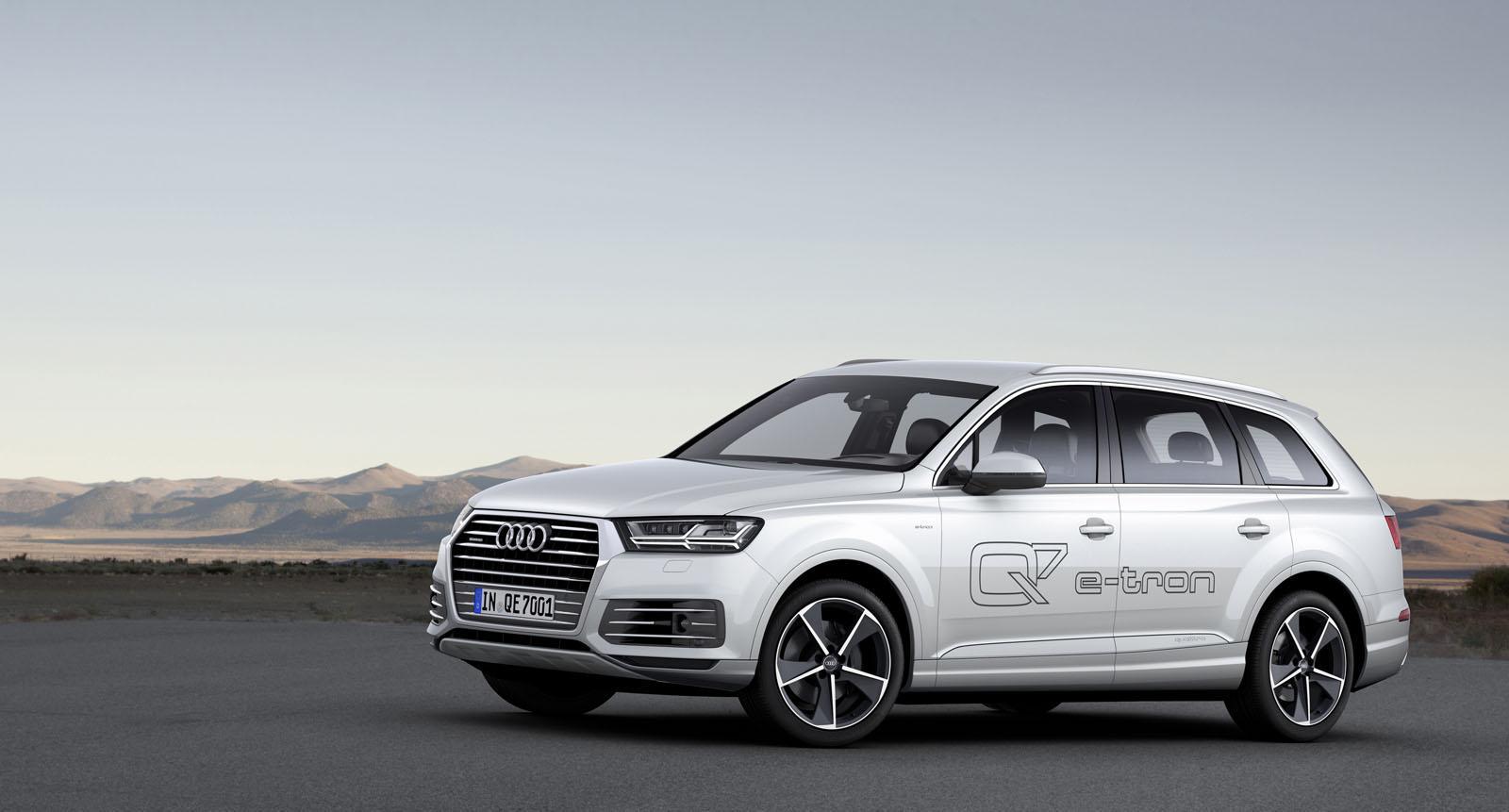 2016 Audi Q7 e-tron TDI