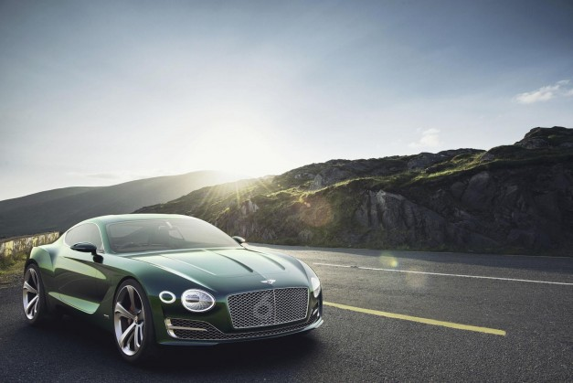 Report: Bentley's eyeing a possible supercar to celebrate first centennial in 2019