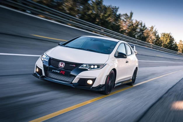 Production for the 2016 Honda Civic Type R commences in Europe