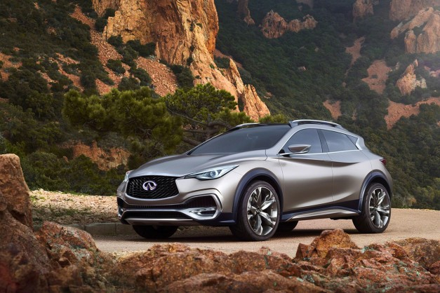 2015 Geneva: Infiniti fully reveals QX30 Concept w/ video
