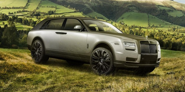 Report: Rolls-Royce insists you don't call its new SUV, an SUV