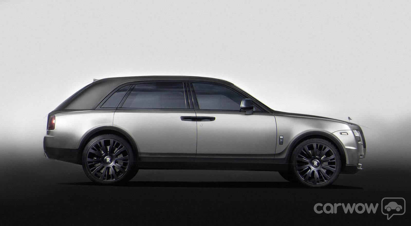 2015 Rolls Royce Suv Crossover Rendering By Carwow Uk 4