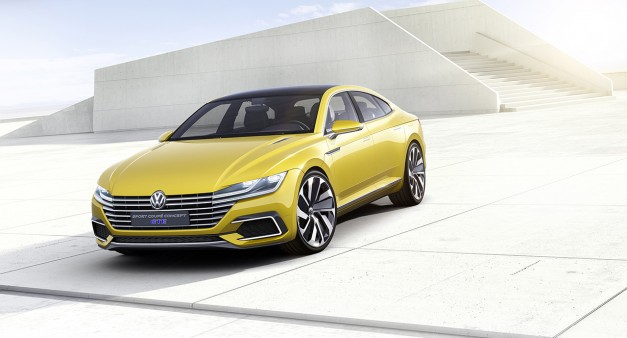 2015 Geneva: The Volkswagen Sport Coupe Concept GTE previews the next-gen CC