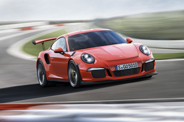 2015 Geneva: Porsche reveals the all-new 911 GT3 RS
