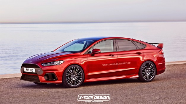 Rendering: This is what a Ford Mondeo RS could look like - egmCarTech
