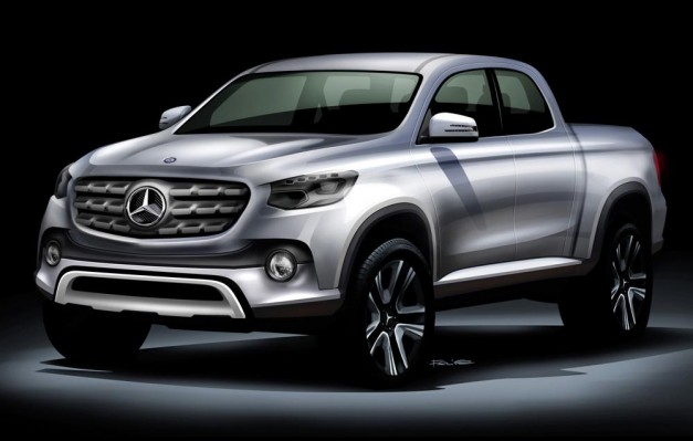 Report: Mercedes-Benz will be building…a pickup truck?? [UPDATE – CONFIRMED]