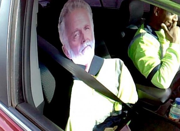 Offbeat: Driver ticketed for attempting the HOV lane with the 'Most Interesting Man in the World'