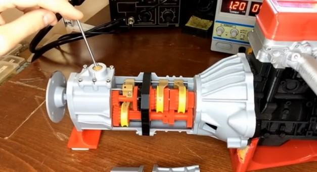 Video: This 3D-printed transmission is just epic…