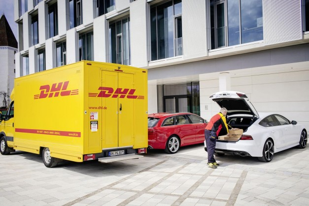 Audi teams up with Amazon and DHL who'll deliver directly to your four-ringed German