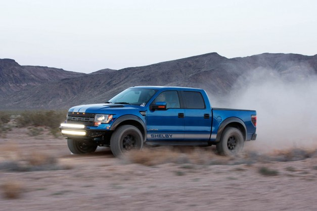 The Ford F150 Raptor gets the latest Shelby treatment