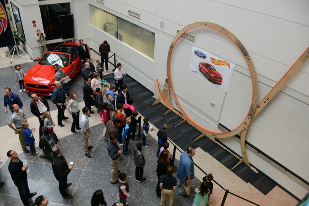 Video: Watch Ford set the world record for biggest Hot Wheels track loop and revive childhood memories