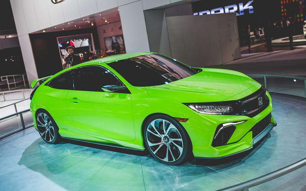 2015 Honda Civic Coupe Concept