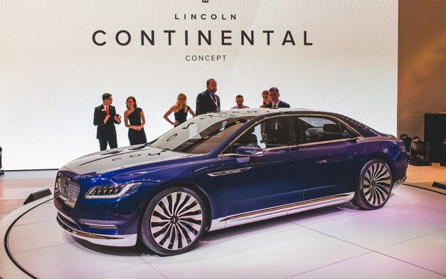 Report: The Lincoln Continental to commence production soon at Ford's Flat Rock plant