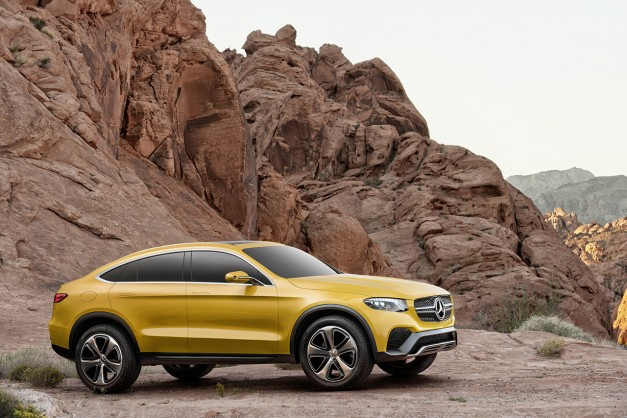 Report: A Mercedes-Benz GLC coupe should be here as a GLE Coupe mini-me by 2016