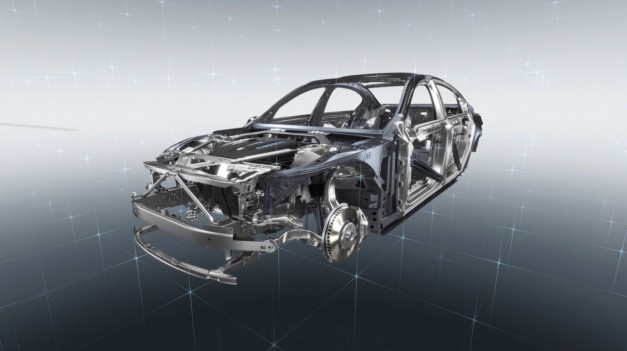 Video: Watch BMW show off its new hybrid carbon-aluminum chassis for the next-gen 7-Series