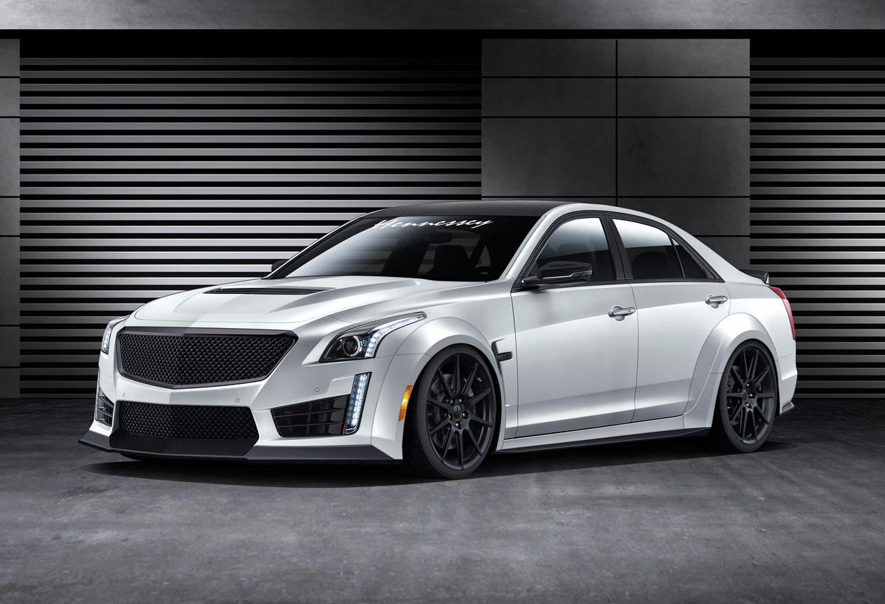 2016 Hennessey Cadillac CTS-V HPE1000 - egmCarTech