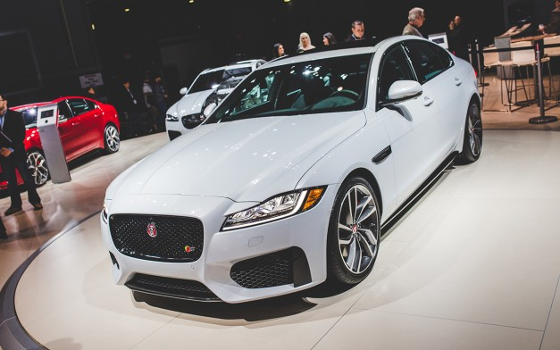 2015 New York: The second generation Jaguar XF brings ferocity to the Big Apple