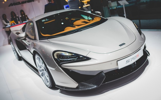 McLaren's Sport Series hits production in England