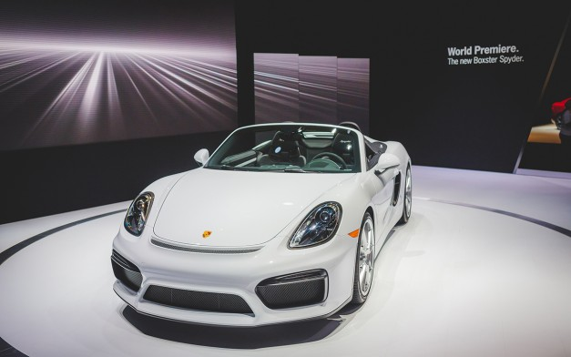 Report: Porsche won't be at the 2017 North American International Auto Show