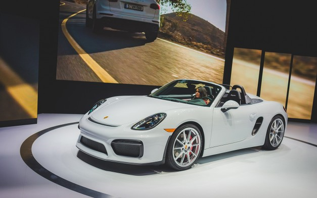 Report: The new Porsche Boxster's four-banger should be pretty potent
