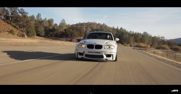 Video: Watch a BMW 135i with an M3 V8 swap make for a pretty bonkers car