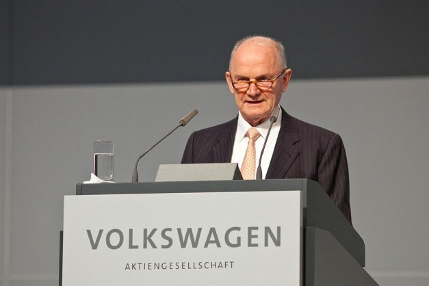 Volkswagen Group Chairman, Ferdinand Piech, forced to quit Volkswagen