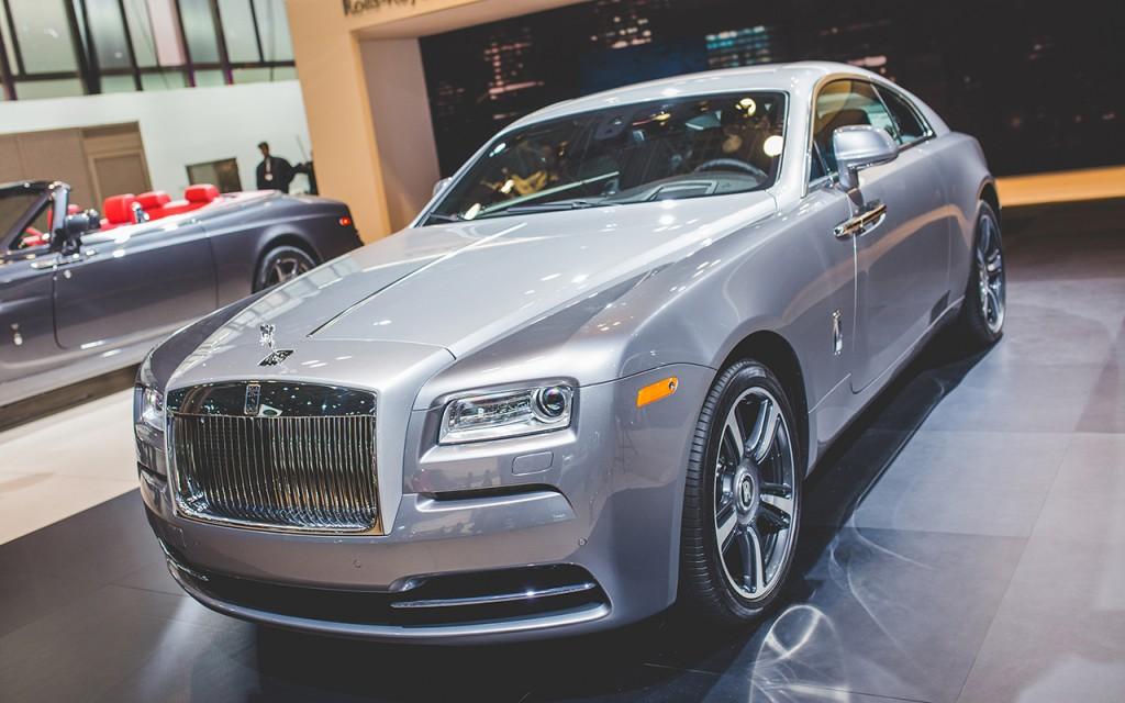 2016 Rolls-Royce Wraith 'Inspired by Film'