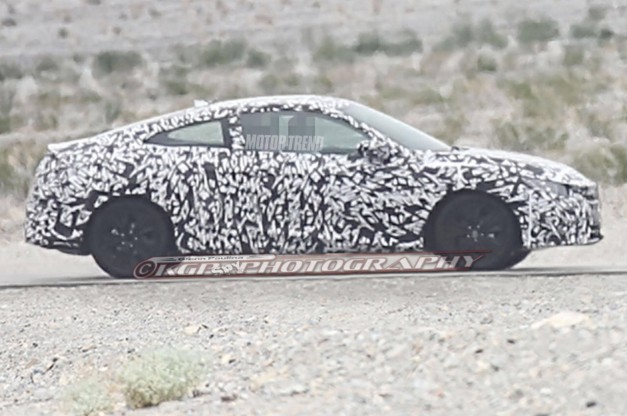 Civic Coupe spy shots maintain concept's sleek profile