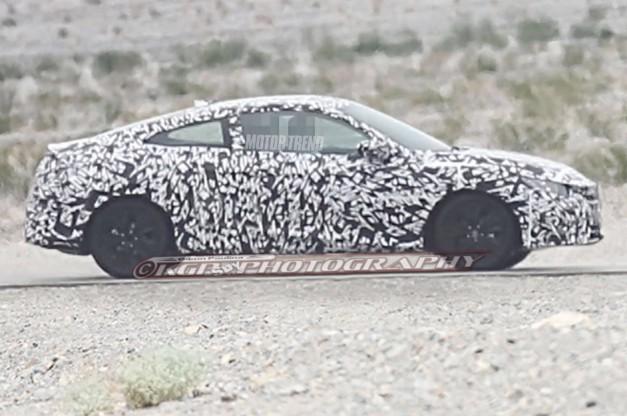 Civic Coupe spy shots maintain concept's sleek profile