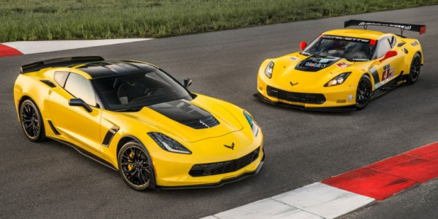 Chevrolet 'rings in racing season with C7.R-inspired special edition Corvette