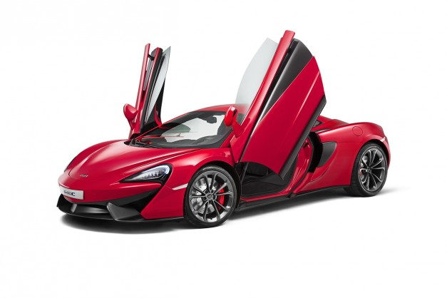 Report: McLaren has no desire to go further down-market than the 540C