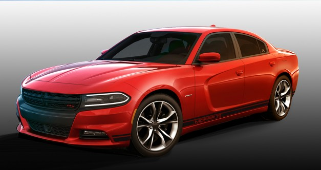 Dodge reveals new Mopar Performance Kit for the 2015 Charger R/T