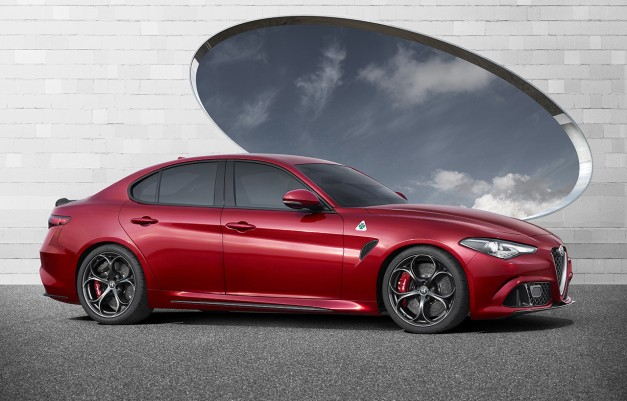 Here's Alfa Romeo's next entrant into the US market–the all-new Giulia