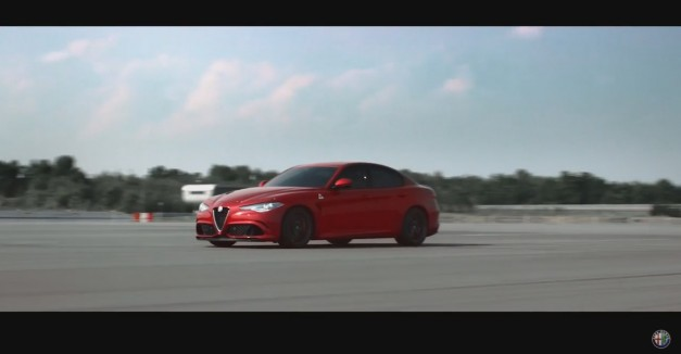 Video: Take a moment to experience the Alfa Romeo Giulia in video form–you know you want to