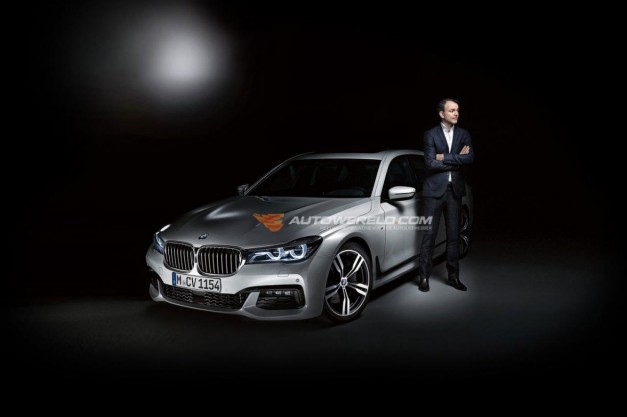 Photo Leak: The next 2016 BMW 7-Series–this is it