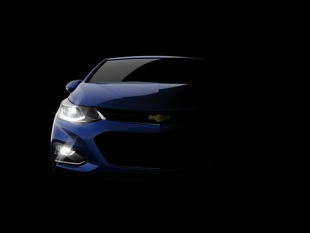 Chevrolet teases the 2016 Cruze