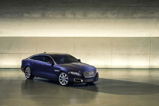 The 2016 Jaguar XJ is here with some nip/tuck for its mid-cycle refresh