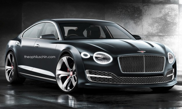 Photo Rendering: If Bentley made the EXP 10 Speed 6 into a four-door coupe, this would be it