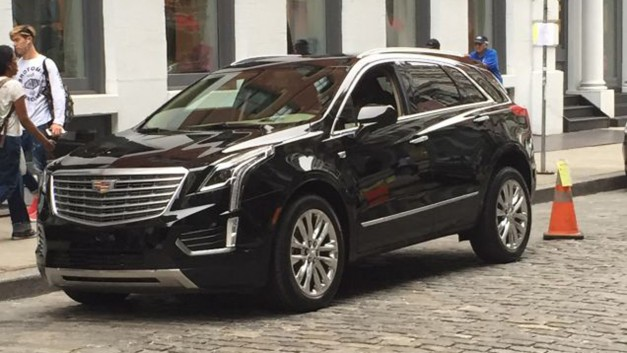 Spy Shots: The next-gen Cadillac SRX replacement spied on the street