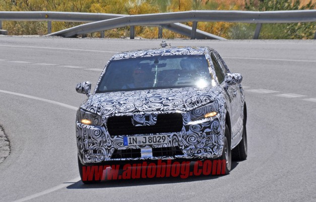 Spy Shots: Here are the first pics of the baby Audi Q1 crossover test mule