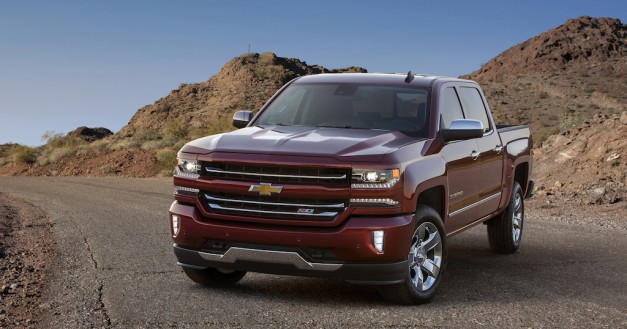 The 2016 Chevrolet Silverado gets a toned down face