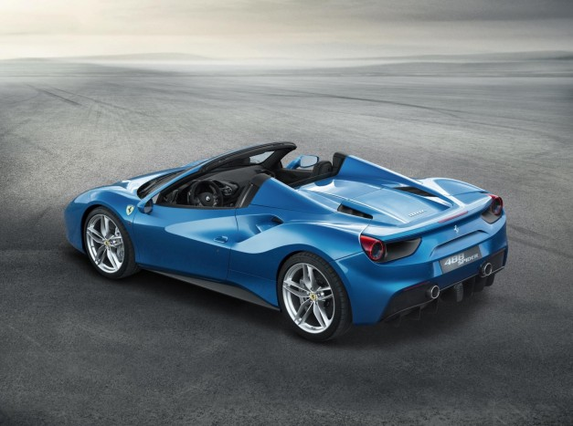 The Ferrari 488 Spider is here with a whopping amount of power and droptop fun