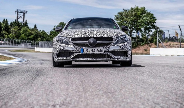 Teasers: More shots of the highly-anticipated Mercedes-AMG C63 Coupe surface