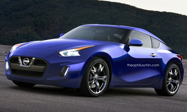 Photo Rendering: Here's one pitch at what the next-gen 370Z could look like