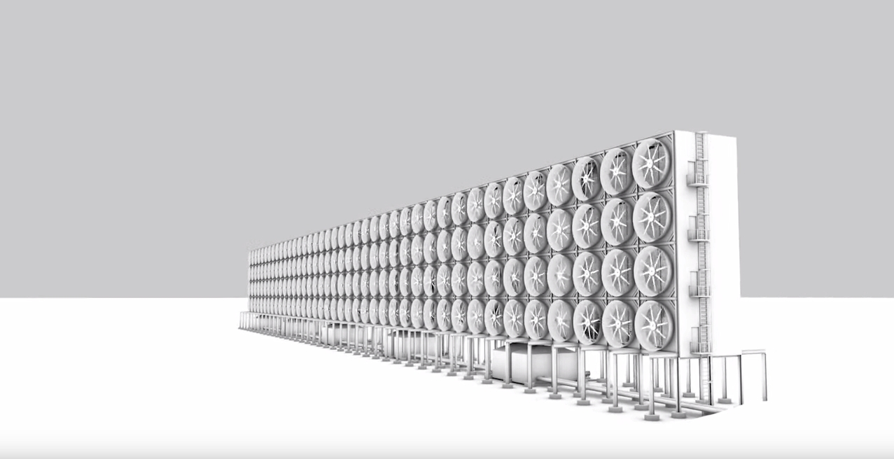 Carbon Dioxide Removal Systems : Tech this new giant but cost effective filter system can
