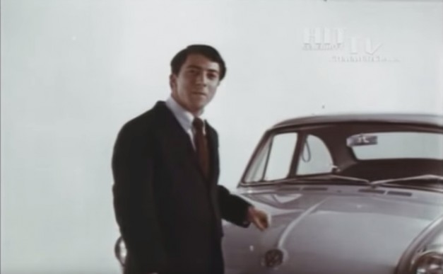 Video: Flashback Friday – Watch a young Dustin Hoffman be a pitchman for Volkswagen