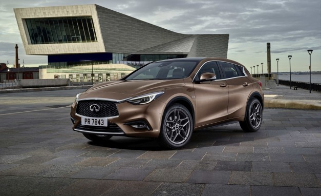 "First official picture of Infiniti Q30 gets released, called a ""Premium Active Concept"""