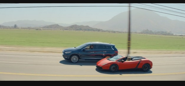 Video: Watch Infiniti recreate the Ferrari scene from National Lampoon's Vacation