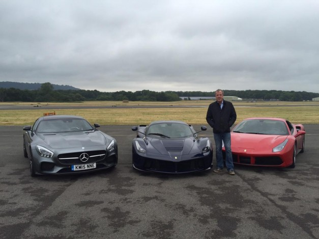 Report: Jeremy Clarkson records his last ever lap on the Top Gear test track