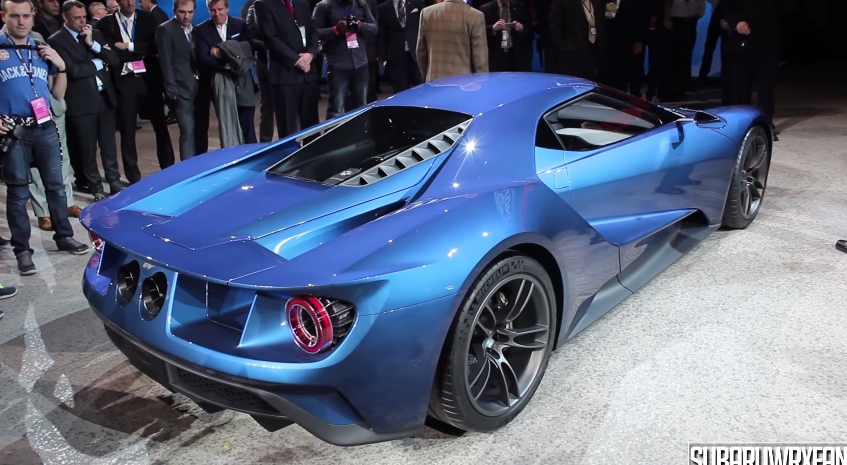 Video Take A Moment And Experience The New Ford Gt In Video Form With Sound